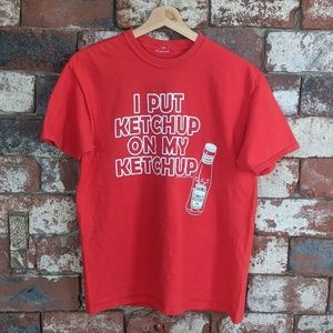 "Heinz ""I Put Ketchup on My Ketchup"" t-shirt"